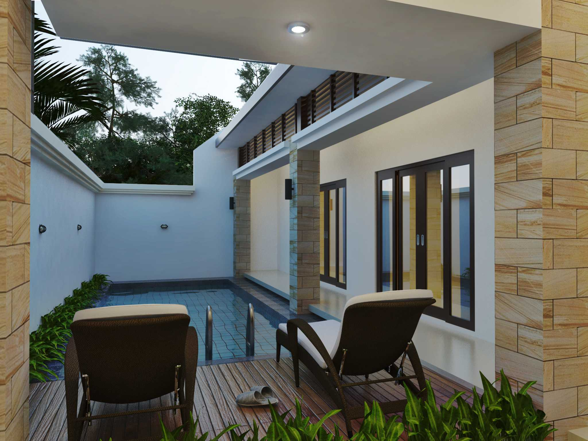 Arsatama Architect Langkung Villa`s - Bali Gianyar, Gianyar Sub-District, Gianyar, Bali, Indonesia Bali, Indonesia View-Poollangkung-Villas   23623