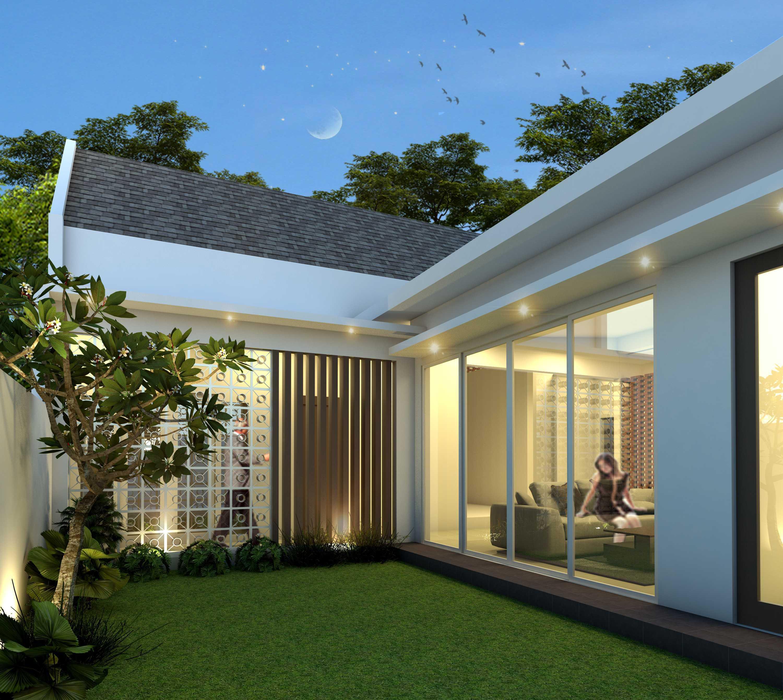 Arsatama Architect K-House - Yogyakarta Kabupaten Sleman, Daerah Istimewa Yogyakarta, Indonesia Yogyakarta, Indonesia Innercourt-1 Kontemporer,minimalis,modern  27106