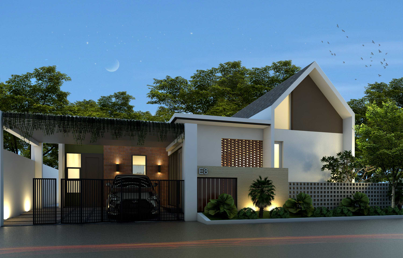 Arsatama Architect K-House - Yogyakarta Kabupaten Sleman, Daerah Istimewa Yogyakarta, Indonesia Yogyakarta, Indonesia K-House-3 Kontemporer,minimalis,modern  27107