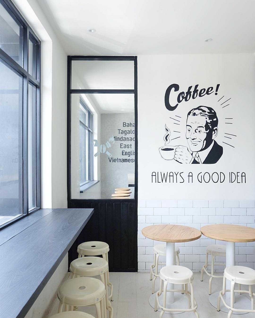 Soseki Design Studio Viverri Coffee Shop Muara Angke Muara Angke Seating Area Modern,skandinavia  22398