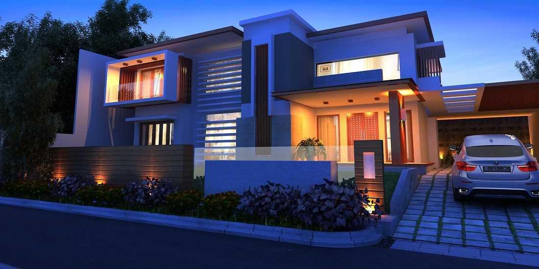Erik Supriatna Residential House Bengkulu Bengkulu Front View Modern  19367