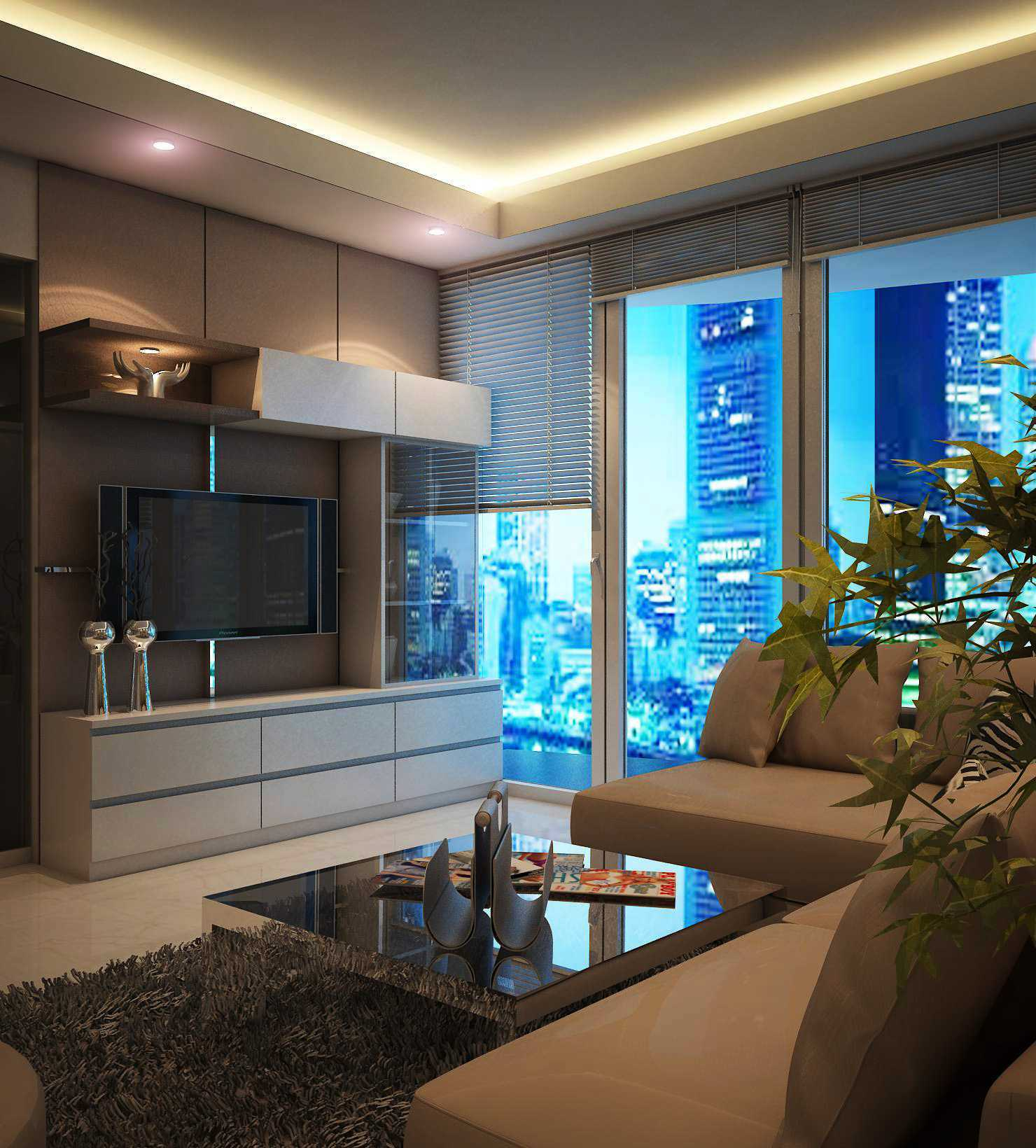Expo Tje. Aa.aa.bsc.ba.ma The Suitroom With Office Function Apartment Jakarta, Indonesia Green Hill Suitroom Apartment Urbanisme Living Room Modern  26537