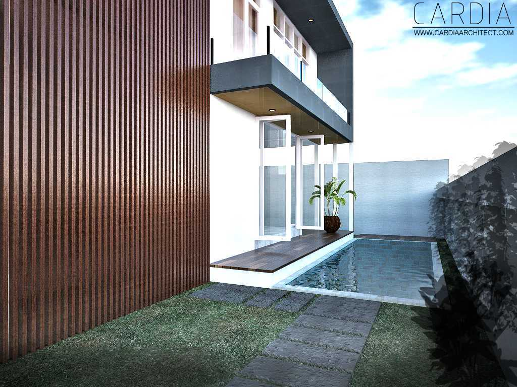 Cardia Architect Mr House Maumere, Kota Uneng, Alok, Kabupaten Sikka, Nusa Tenggara Tim., Indonesia Maumere Swimming Pool Area Minimalis,modern <P>View From Front Entrance</p> 21578