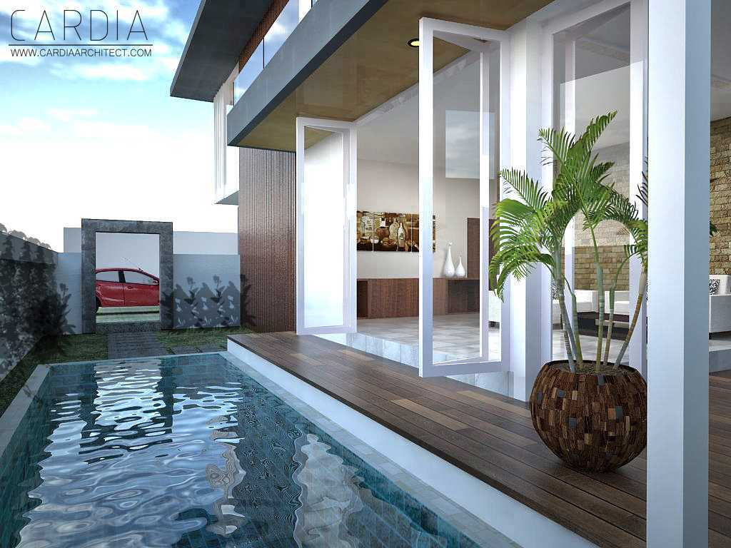 Cardia Architect Mr House Maumere, Kota Uneng, Alok, Kabupaten Sikka, Nusa Tenggara Tim., Indonesia Maumere Swimming Pool Area  <P>View Living Room From Pool</p> 21579