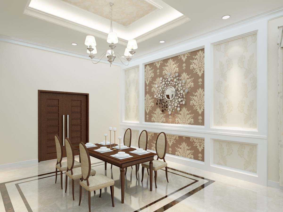 Valentine Oriza Modern Classic House Design Ketapang Regency, West Kalimantan, Indonesia Pontianak, West Kalimantan, Indonesia Diningroom Kontemporer  30295