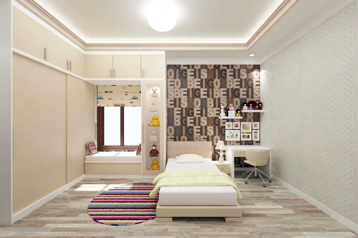 Valentine Oriza Modern Classic House Design Ketapang Regency, West Kalimantan, Indonesia Pontianak, West Kalimantan, Indonesia Kids-Bedroom-01 Kontemporer  30297