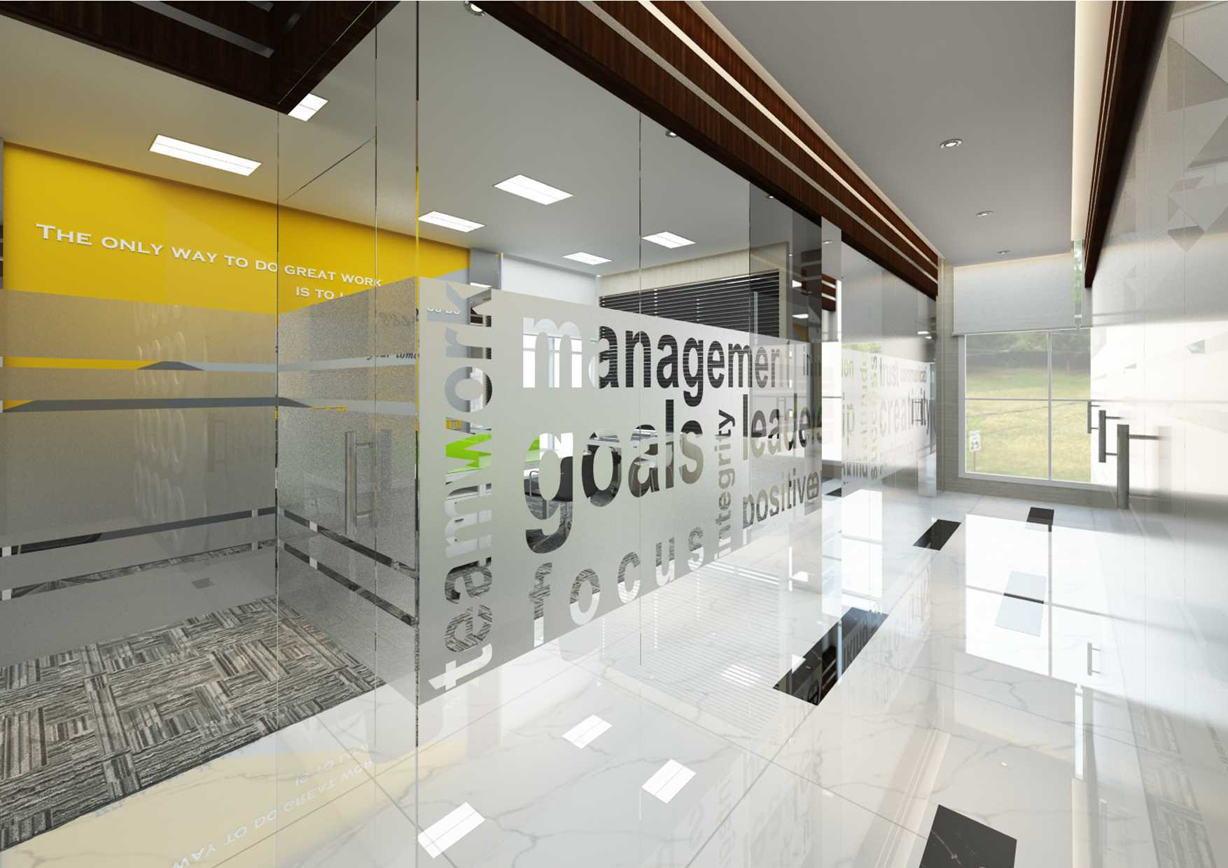 Photo 03 Modern Office Design 5 Desain Arsitek Oleh Valentine Oriza Arsitag