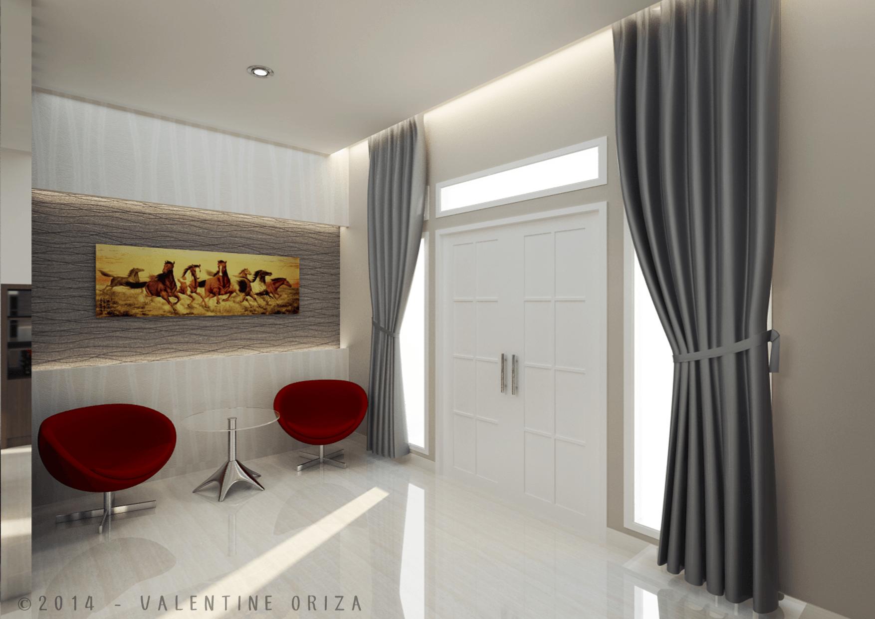 Valentine Oriza Modern Home  Jakarta, Indonesia Copyright-Foyer Modern  30381