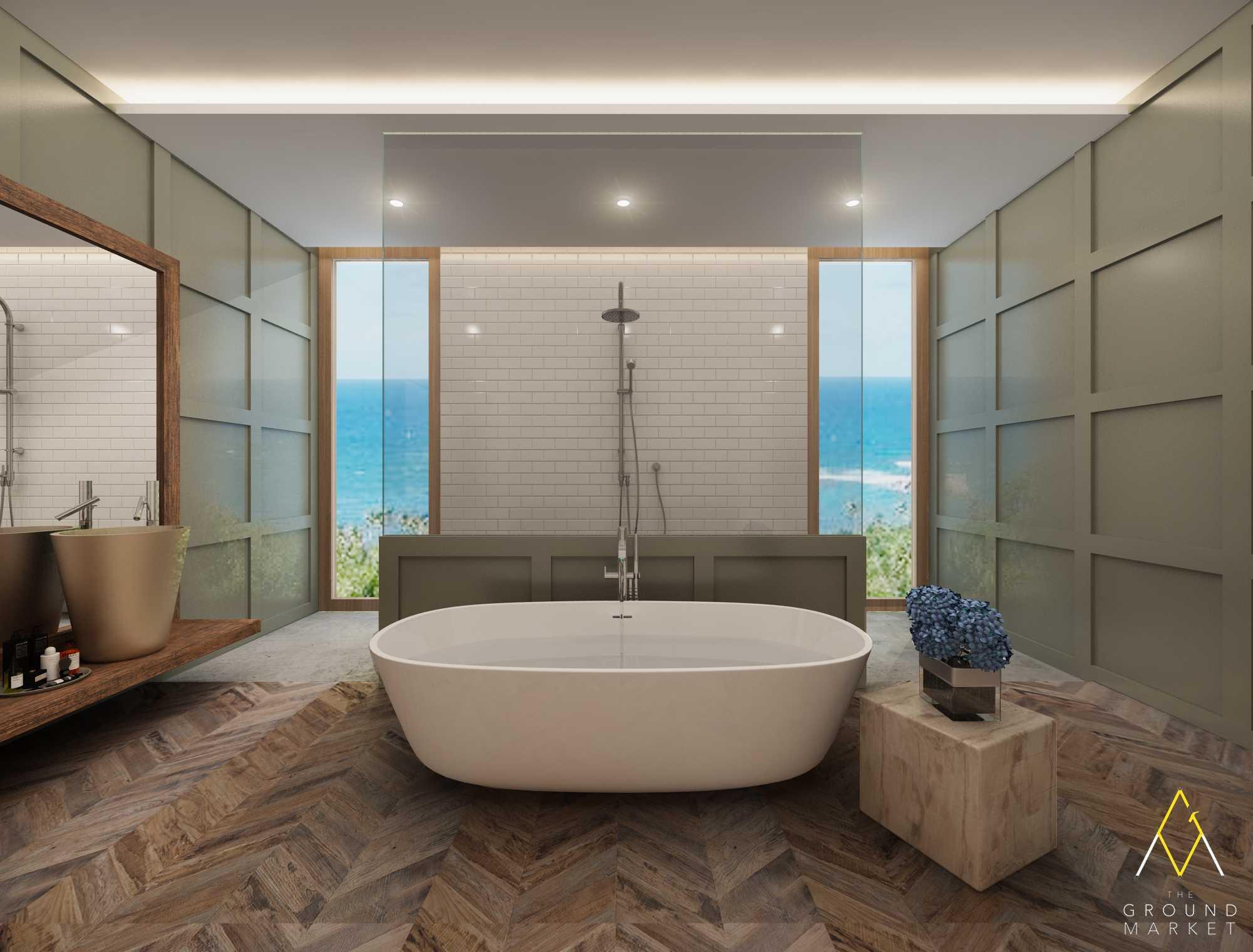 The Ground Market 3D Projects Jakarta Jakarta Master Bathroom Industrial  19451