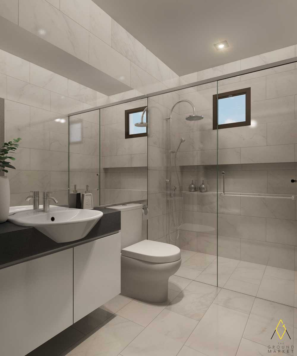 The Ground Market Rumah Green Lake Jakarta, Indonesia  Master Bathroom   34155