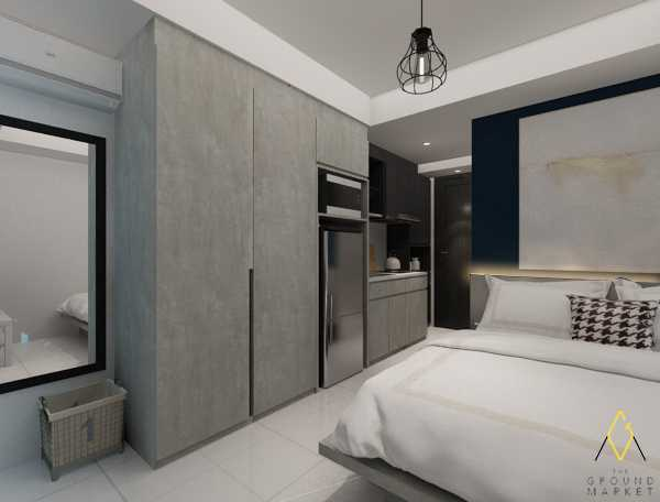 The Ground Market Belmont Residence Studio Apartment Jakarta, Indonesia  Wardrobe   34166