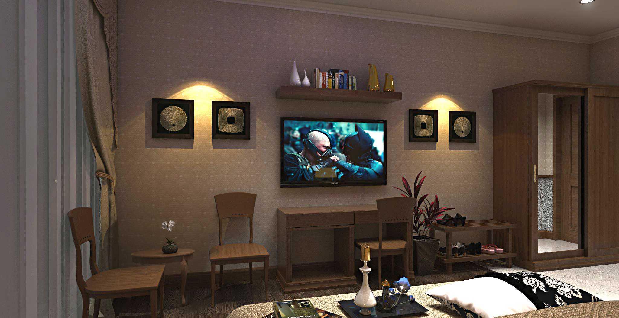 Triasteri Interior And Design Classical Hotel Bogor, West Java, Indonesia Bogor, West Java, Indonesia Livingroom Klasik  19811