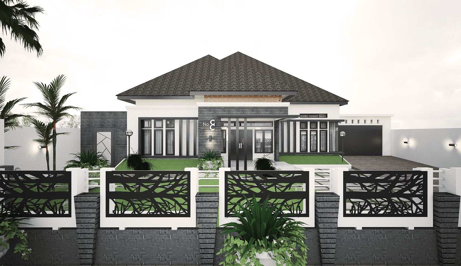 Yay Architect Concept Classic Modern House Bireun, Aceh, Indonesia Bireun, Aceh, Indonesia D   28376