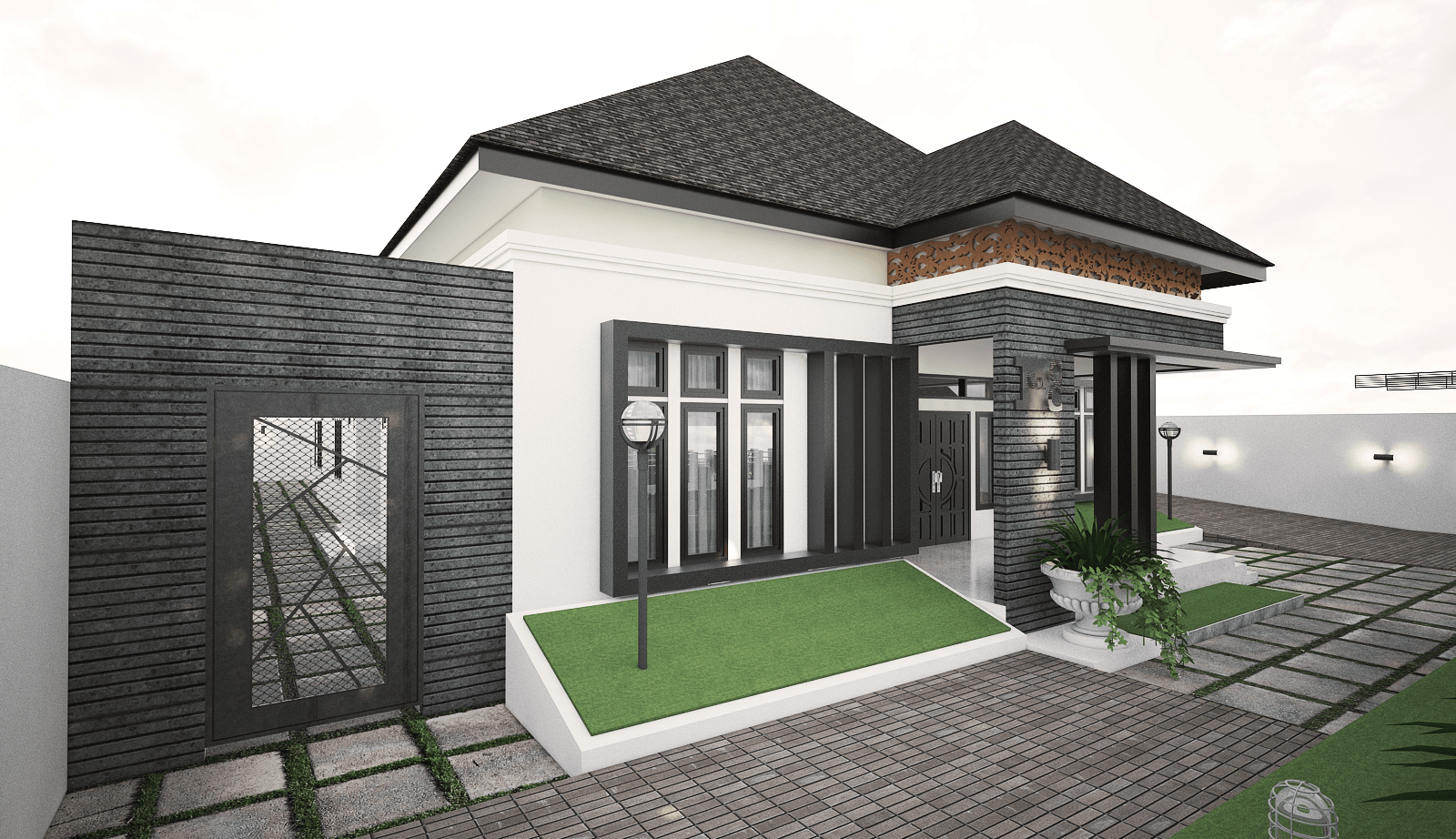 Yay Architect Concept Classic Modern House Bireun, Aceh, Indonesia Bireun, Aceh, Indonesia F   28378