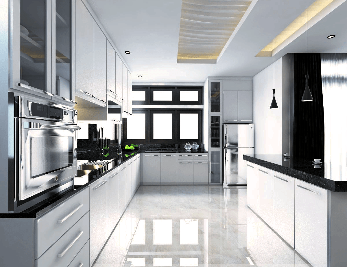 Yay Architect Concept Classic Modern House Bireun, Aceh, Indonesia Bireun, Aceh, Indonesia Kitchen   28387
