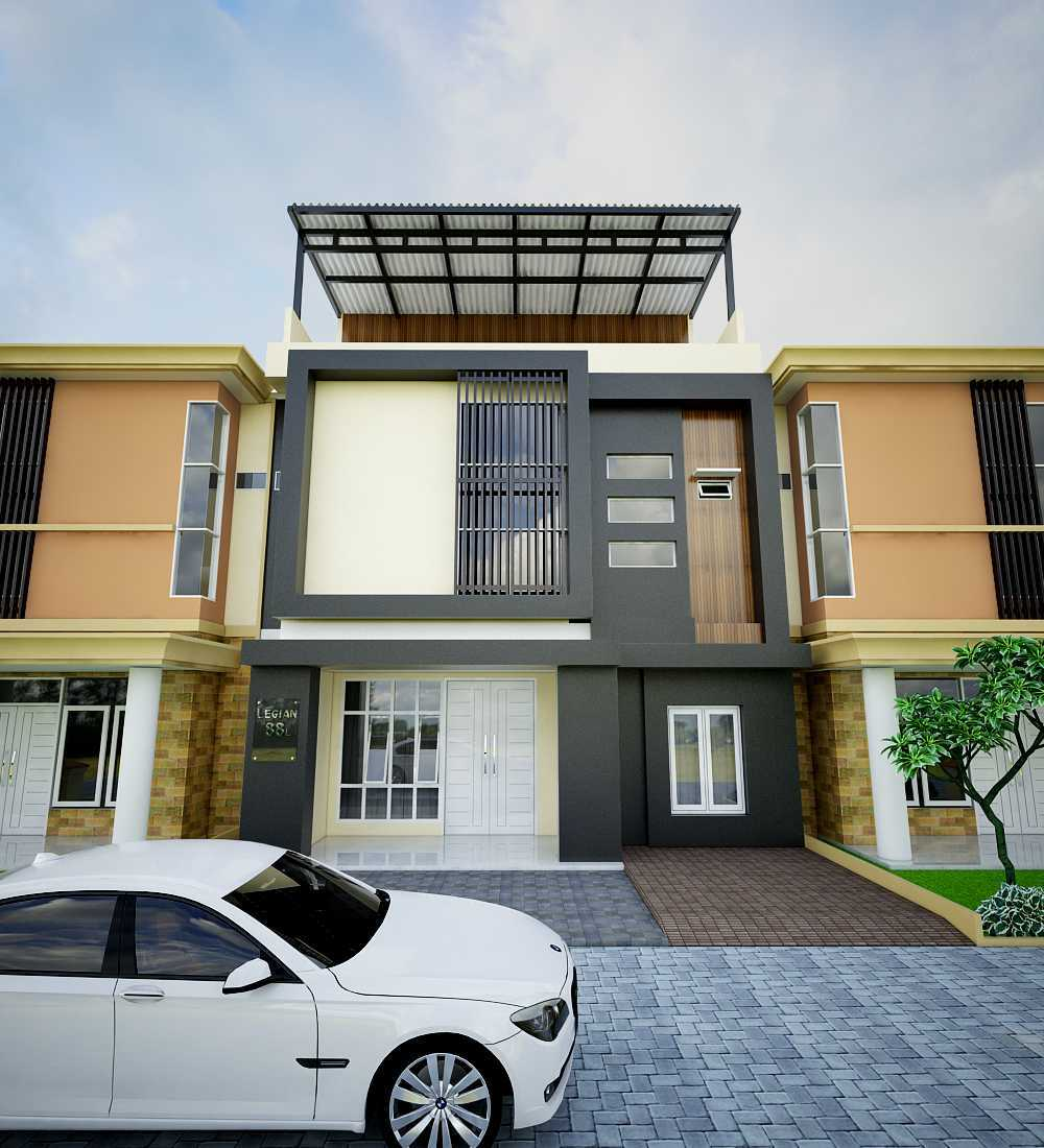 Yay Architect Concept Modern Minimalist House Medan, Indonesia Medan, Indonesia Front View Minimalis,modern  29620