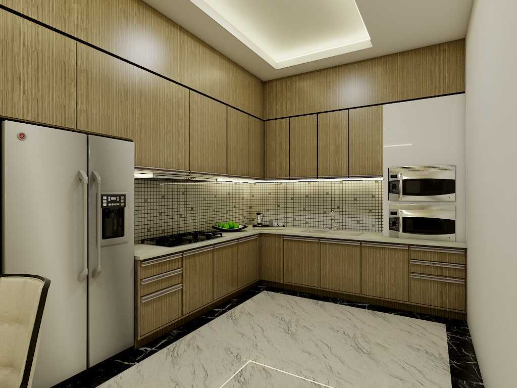Yay Architect Concept Modern Minimalist House Medan, Indonesia Medan, Indonesia Kitchen Area Minimalis,modern  29623