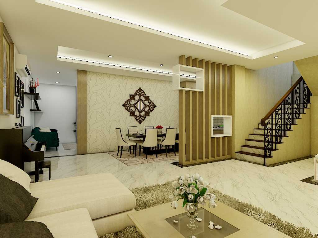 Yay Architect Concept Modern Minimalist House Medan, Indonesia Medan, Indonesia Living Area Minimalis,modern  29624