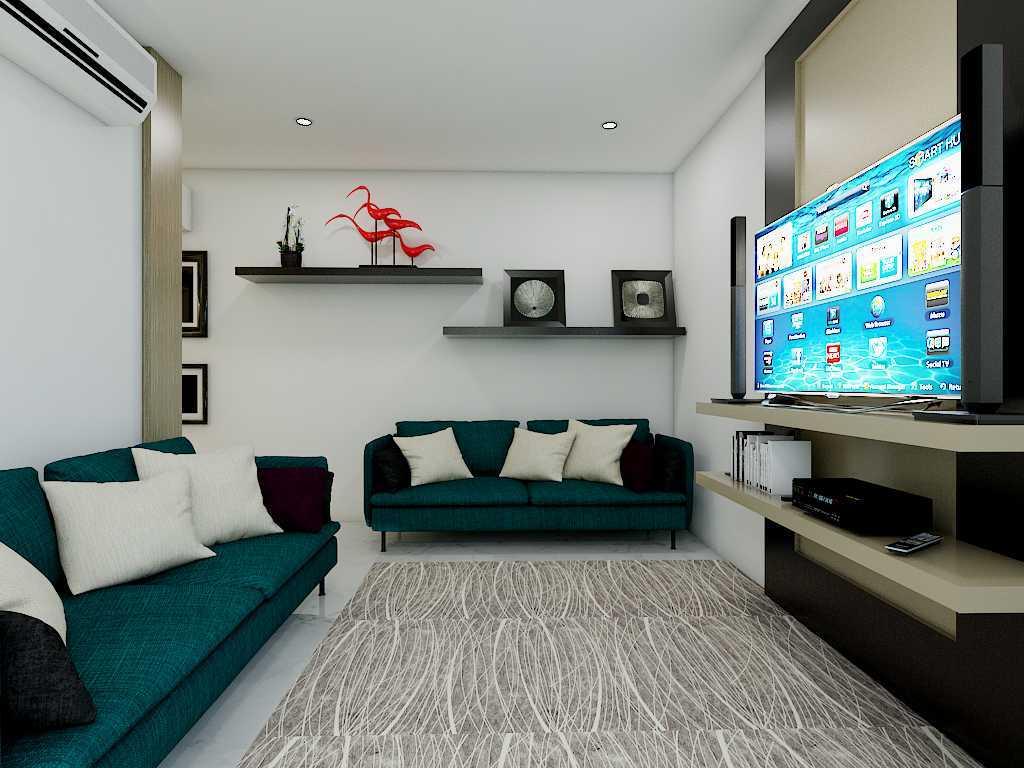 Yay Architect Concept Modern Minimalist House Medan, Indonesia Medan, Indonesia Family Room Minimalis,modern  29625