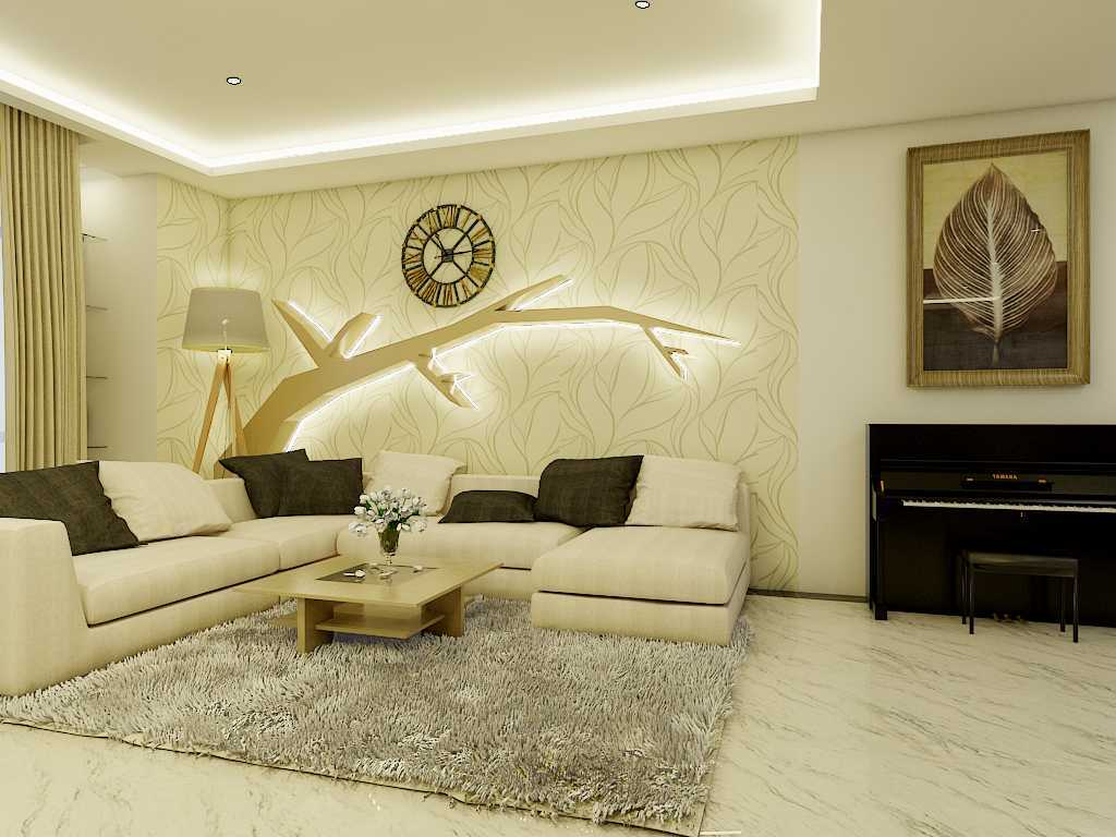 Yay Architect Concept Modern Minimalist House Medan, Indonesia Medan, Indonesia Living Area Minimalis,modern  29629