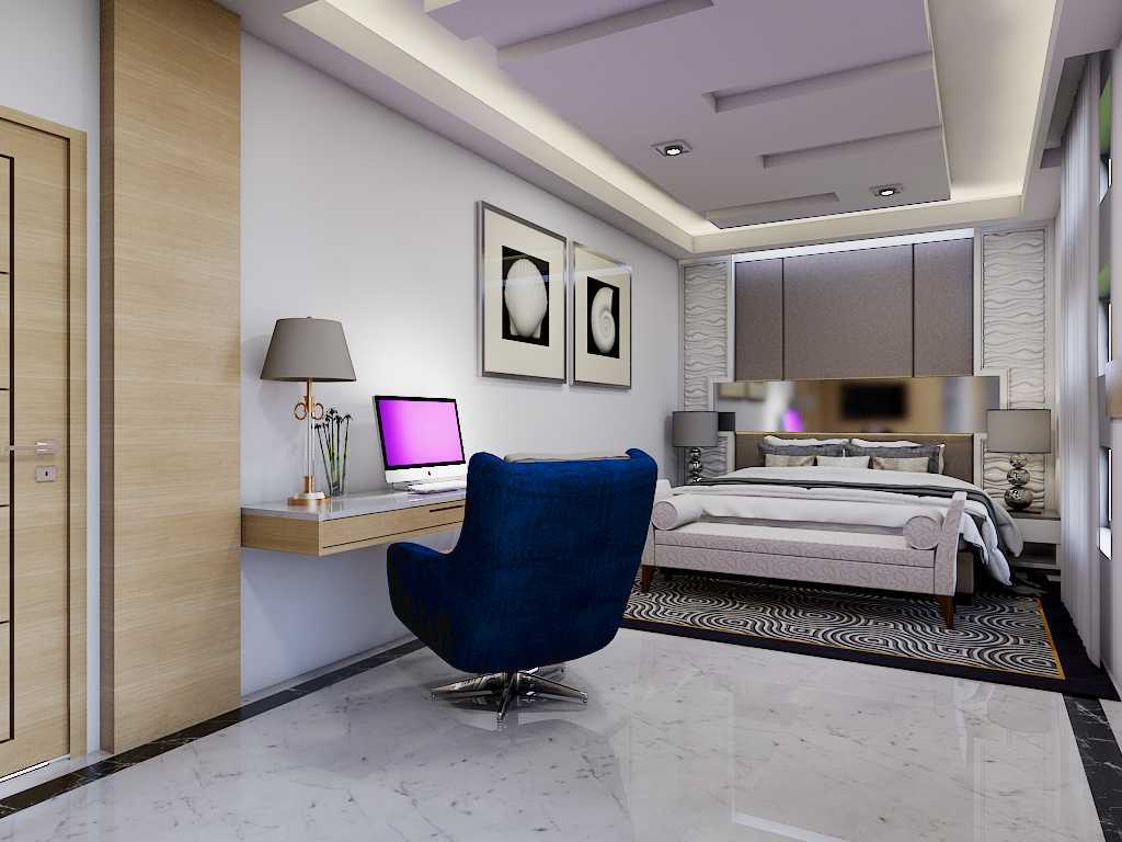 Yay Architect Concept Modern Minimalist House Medan, Indonesia Medan, Indonesia Bedroom Minimalis,modern  29631