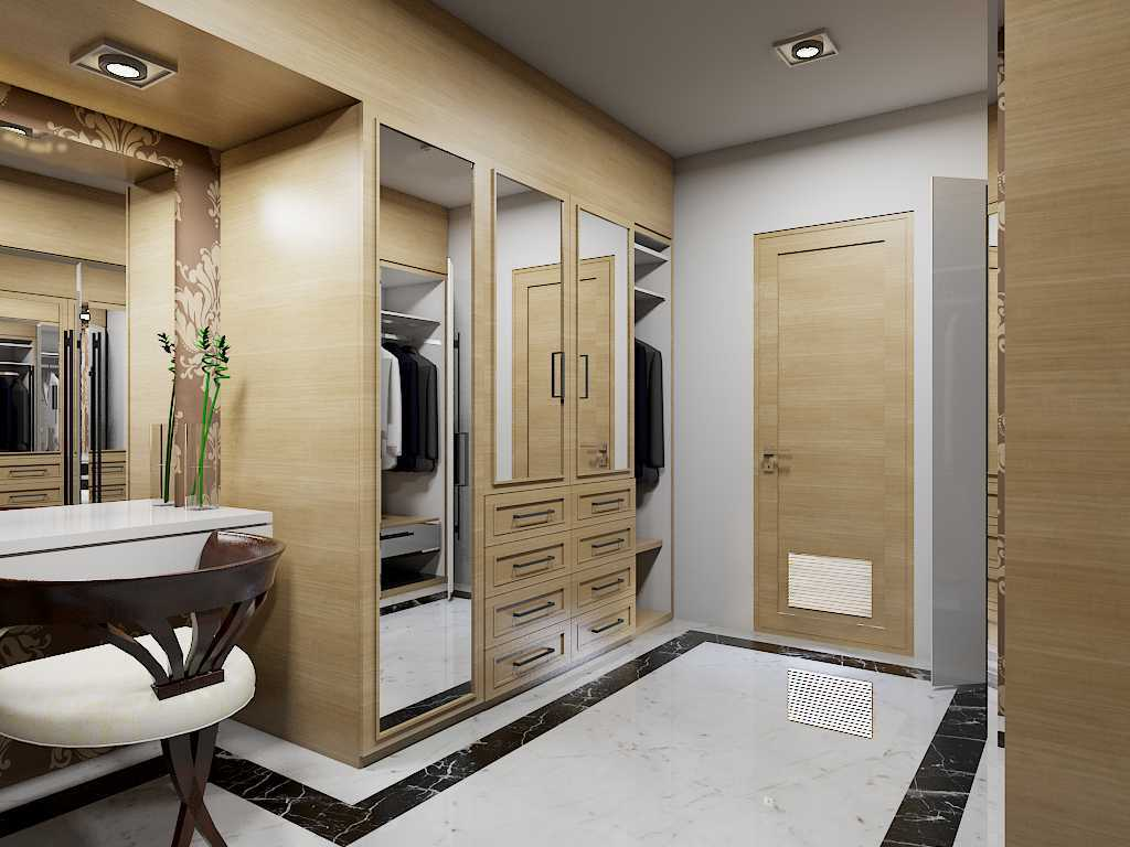 Yay Architect Concept Modern Minimalist House Medan, Indonesia Medan, Indonesia Walk In Closet Minimalis,modern  29632