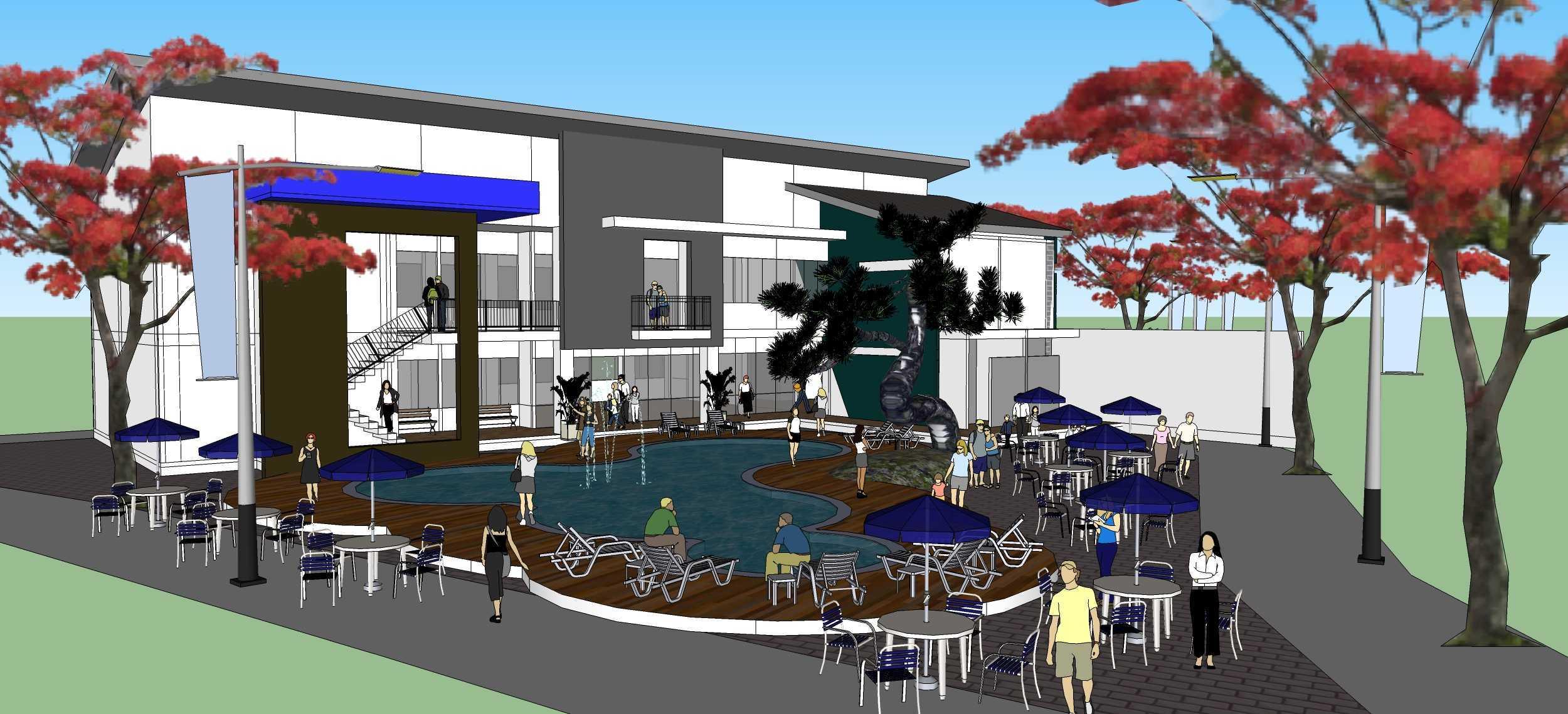 Wicaksono Pandyo Prasasto Hollywood Square Bogor, Jawa Barat Bogor, Jawa Barat Swimming Pool Area   27011