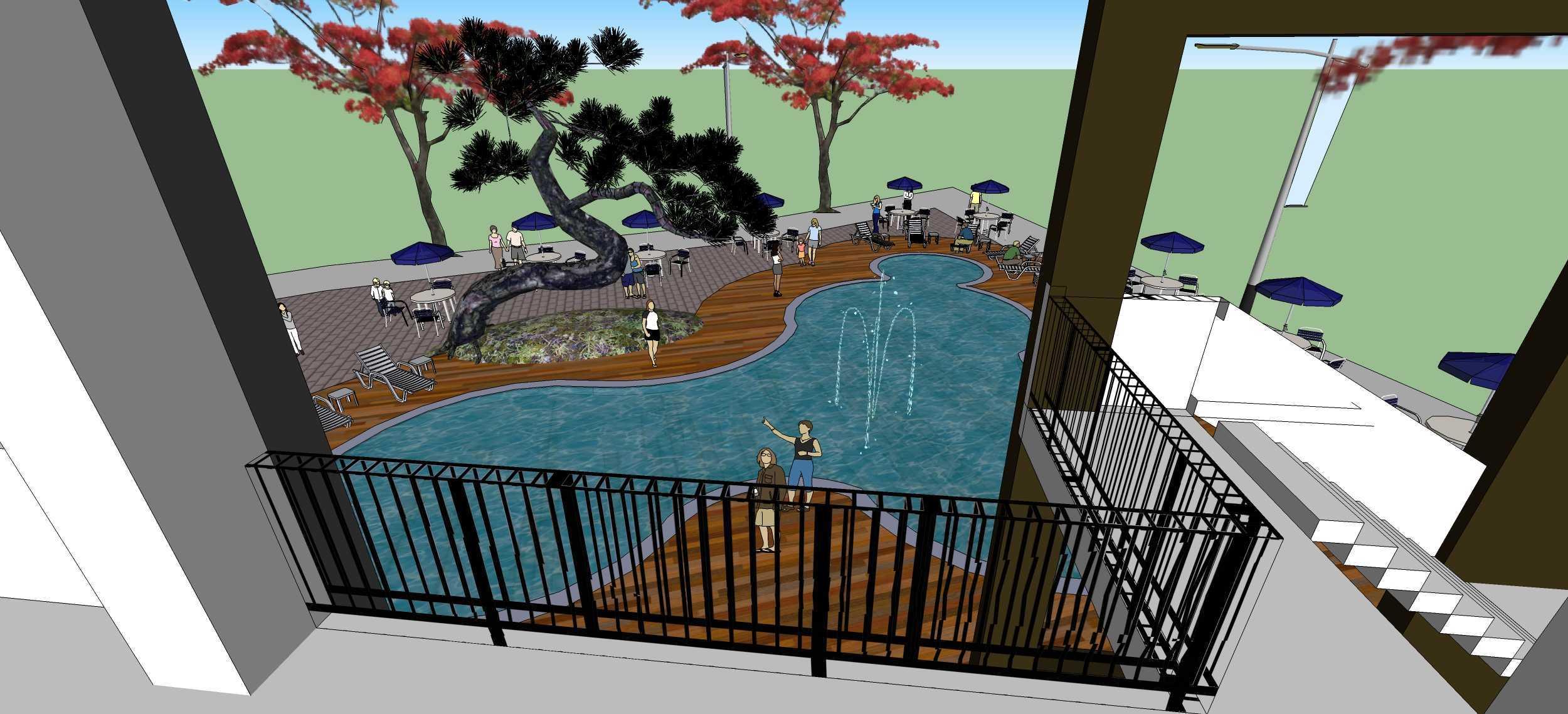 Wicaksono Pandyo Prasasto Hollywood Square Bogor, Jawa Barat Bogor, Jawa Barat Swimming Pool View   27015