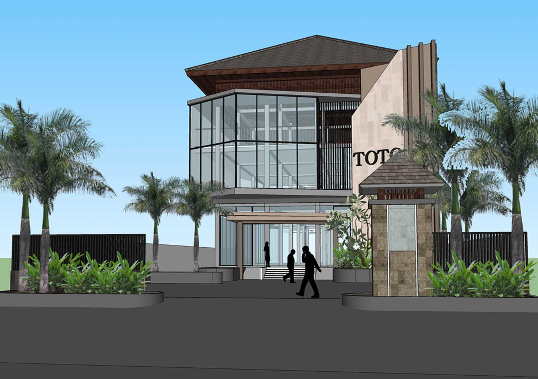 Revan Teggar Toto Showroom & Office Denpasar, Bali Denpasar, Bali Side View   20391