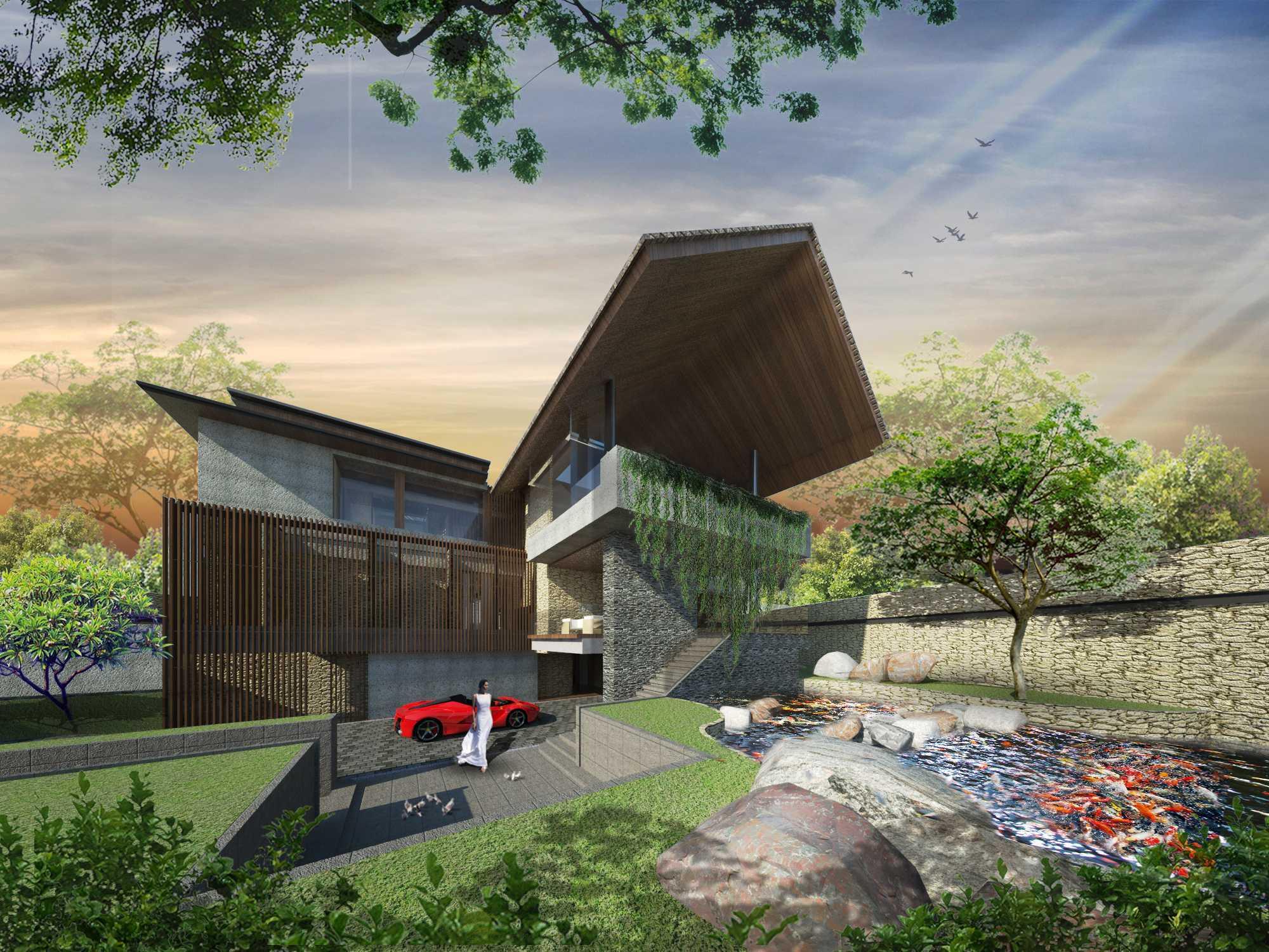 Angkasa Architects Gisela House Serpong Serpong Front Facade View   20441
