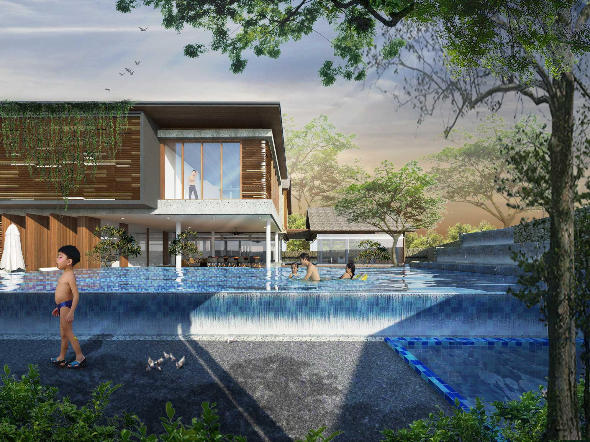 Angkasa Architects Gisela House Serpong Serpong Pool View   20442