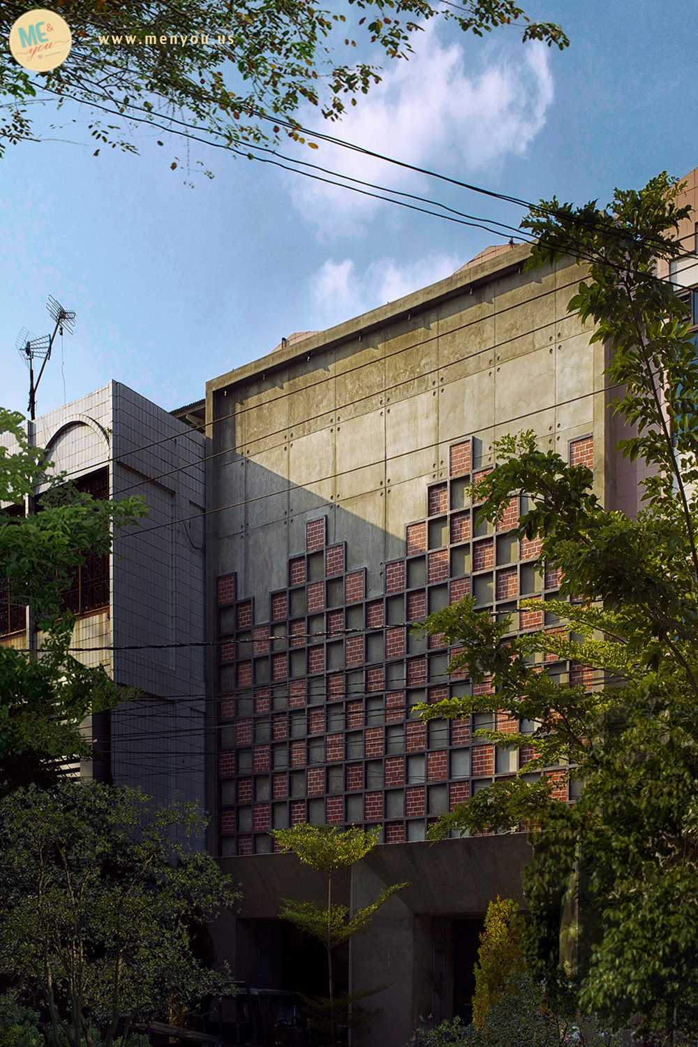 Angkasa Architects Ochado Cafe Pekanbaru Pekanbaru Side View   20481
