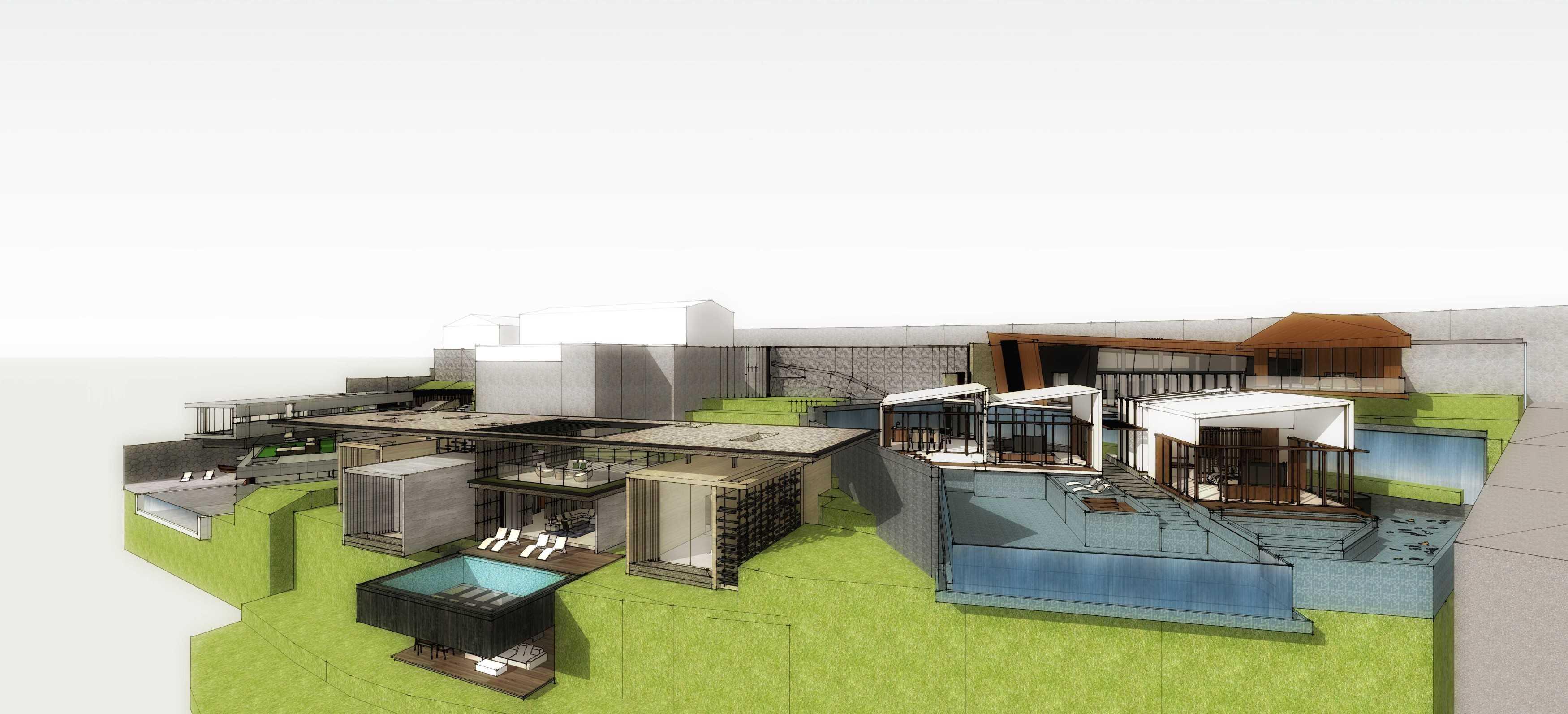 Angkasa Architects G Villa & Resorts Bali Bali Bird Eye View   20514