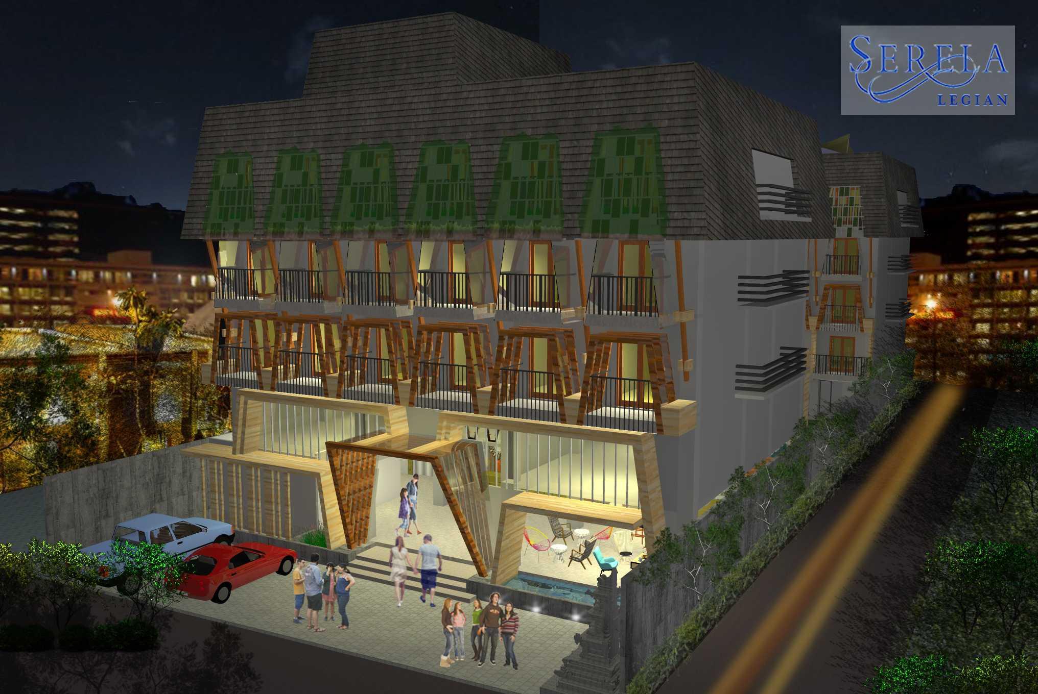 Melly Purnamahildha Tarman Grand Serela Legian Hotel Legian, Bali Legian, Bali Night View   20462