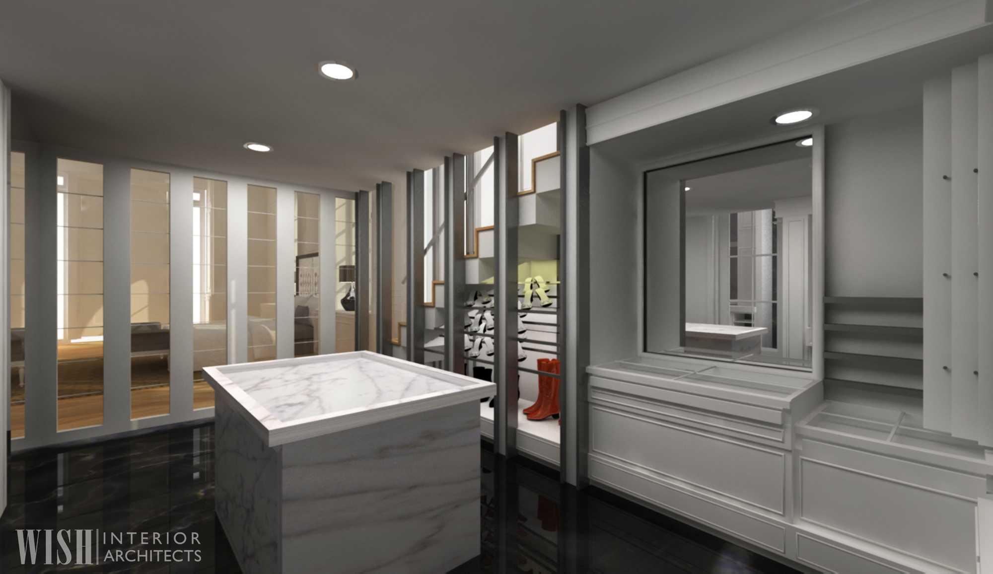 Wish Interior+Architects Bedroom  Pekanbaru, Riau Pekanbaru, Riau Wardrobe Storage   20626