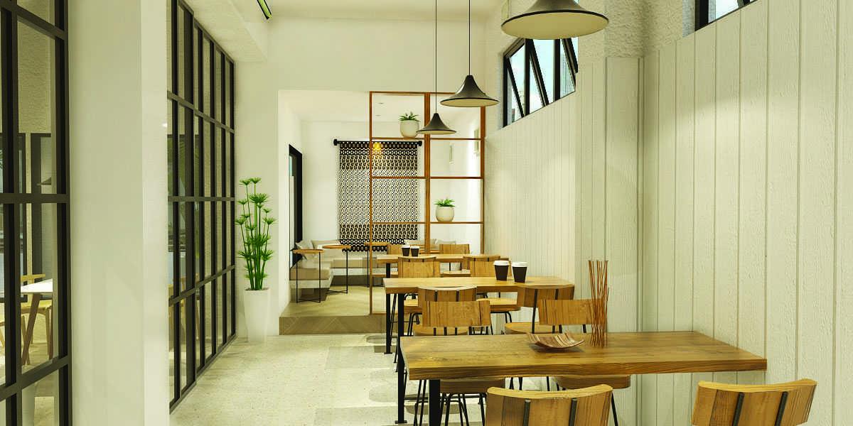 Studio Singga Papiri Coffee Shop Jakarta Jakarta Dining Area   22811