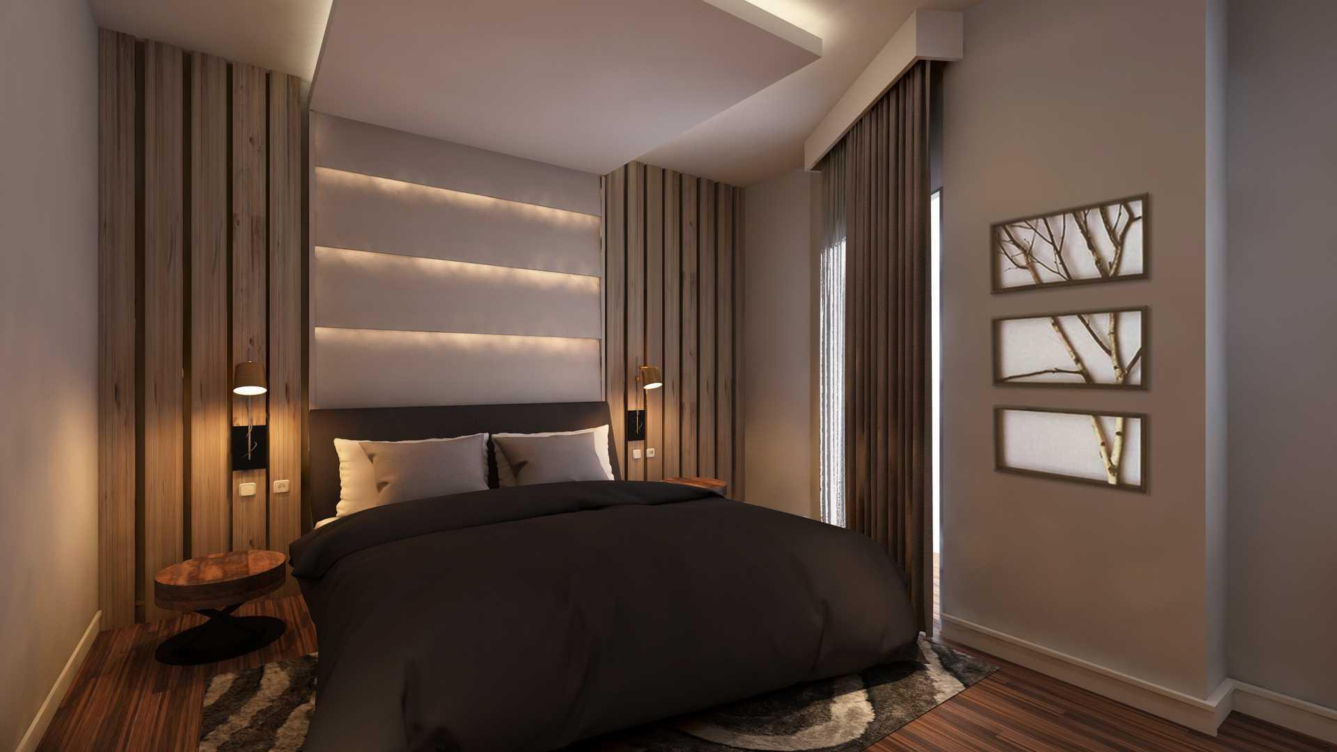 Tridivan Architama De's House Jakarta, Indonesia Jakarta, Indonesia Master Bedroom Modern  20707