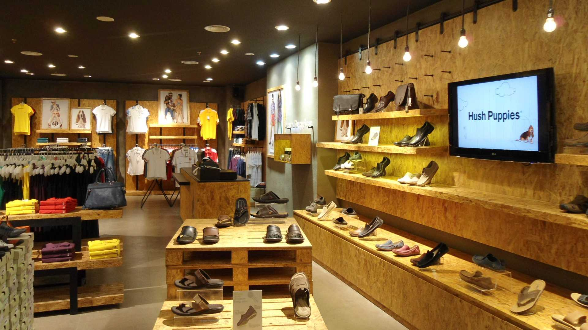 Canvas Mkc Store Hush Puppies Bali Bali Display Minimalis  21071