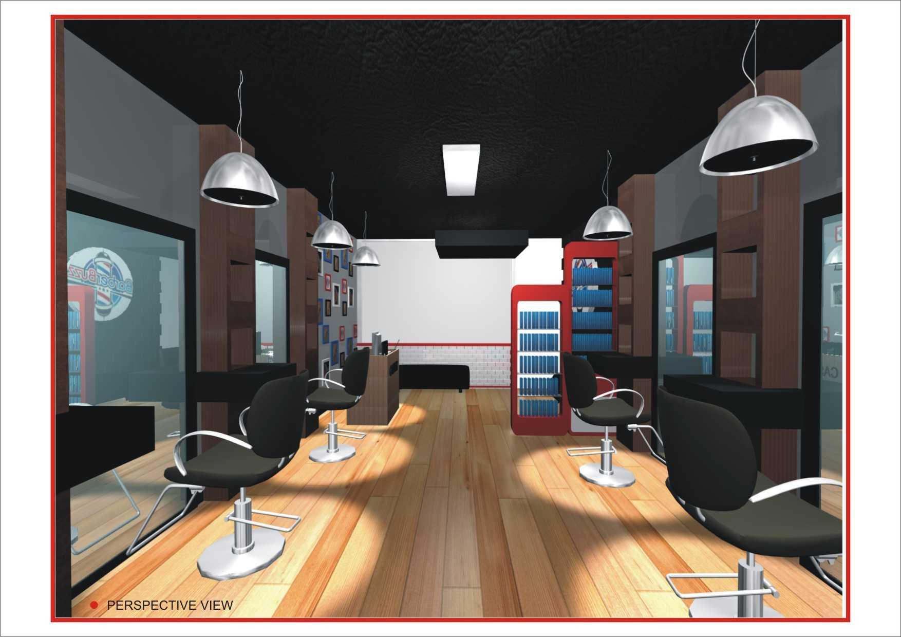 Canvas Mkc Barberbuzz - Barbershop Tangerang Tangerang Perspective View   21136