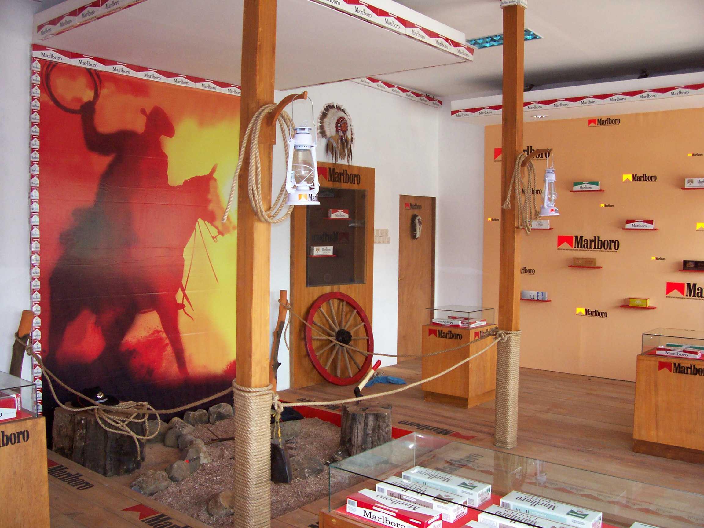 Canvas Mkc Marlboro Outlet-Subang Subang - Jawa Barat Subang - Jawa Barat Interior Industrial  21127