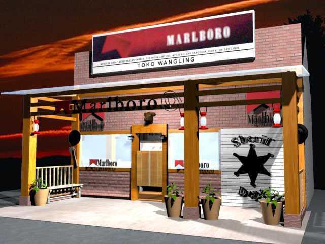 Canvas Mkc Marlboro Outlet-Subang Subang - Jawa Barat Subang - Jawa Barat Front View - Night Industrial  21132