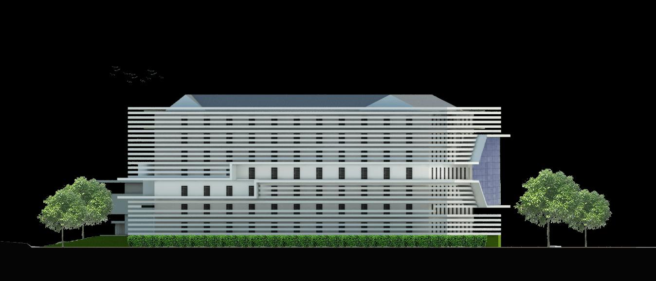 Astabumi Architect & Interior Design Fakultas Hukum Universitas Islam Indonesia Yogyakarta Yogyakarta Tampak-3   21386