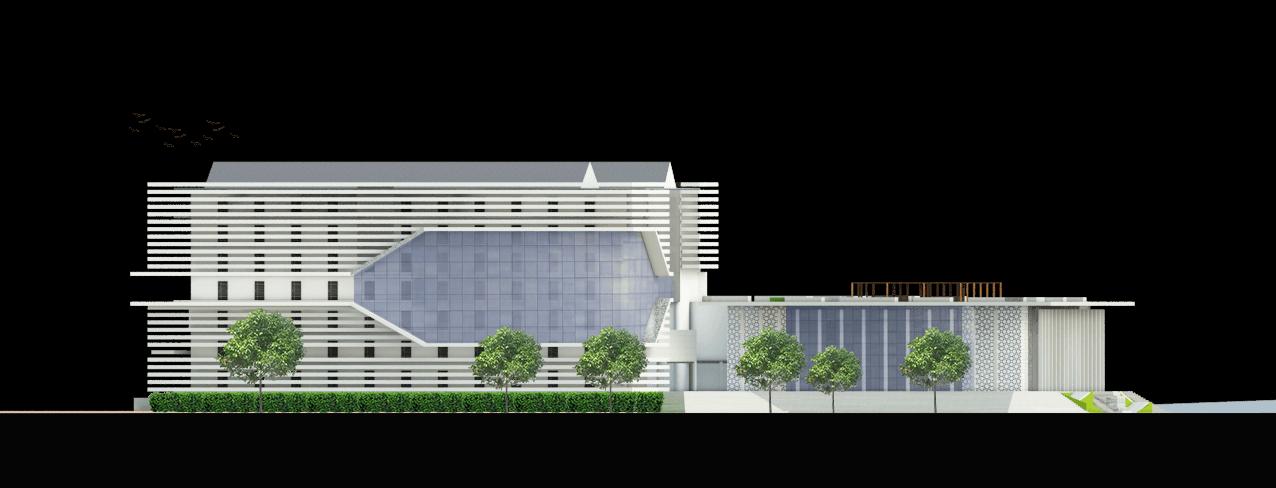 Astabumi Architect & Interior Design Fakultas Hukum Universitas Islam Indonesia Yogyakarta Yogyakarta Tampak-4   21387