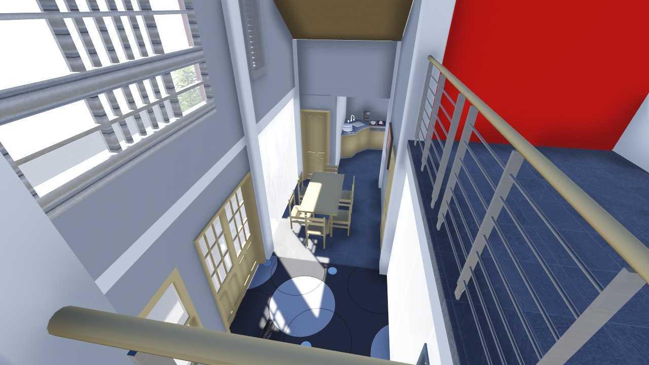 Studio Arsitek Bersaudara Rumah 2 Lantai Modern  Lokal Padang, Padang City, West Sumatra, Indonesia Padang View From 2Nd Floor Modern  21471
