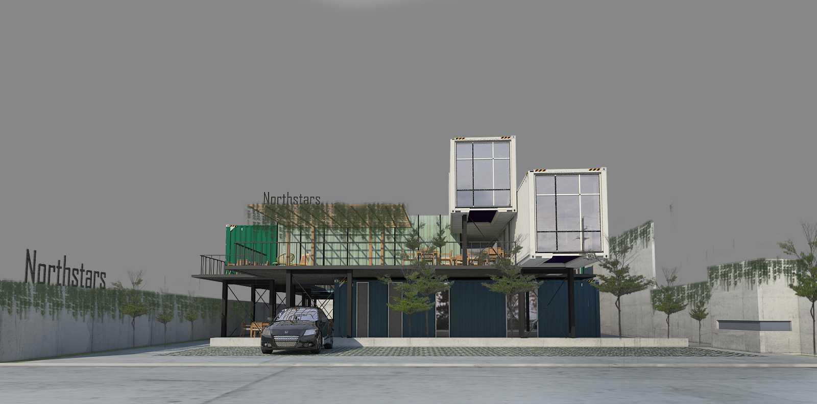 Braun Studio Northstars Cafe Medan Jl. Jamin Ginting, Padang Bulan, Medan Baru, Kota Medan, Sumatera Utara 20157, Indonesia Medan Sisingamangaraja Front View Industrial  25850
