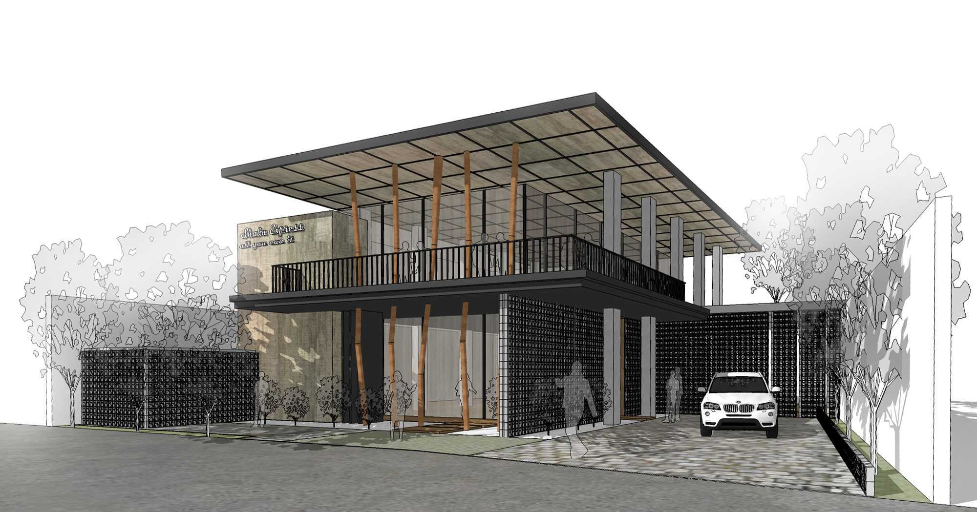 Braun Studio Shabu Express Restaurant  Samarinda, Samarinda City, East Kalimantan, Indonesia Perspektif-1 Tropis,modern  30399