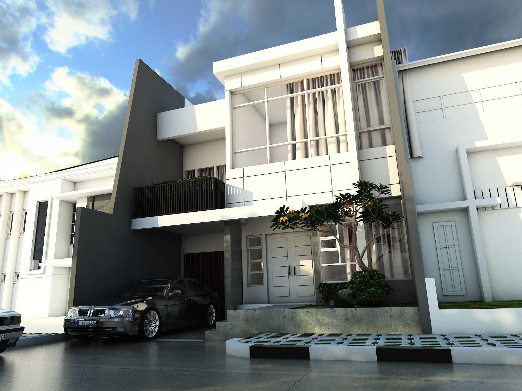 Novianto Djoko Asmoro Multi Rectangle House Bekasi Bekasi Front View   21701