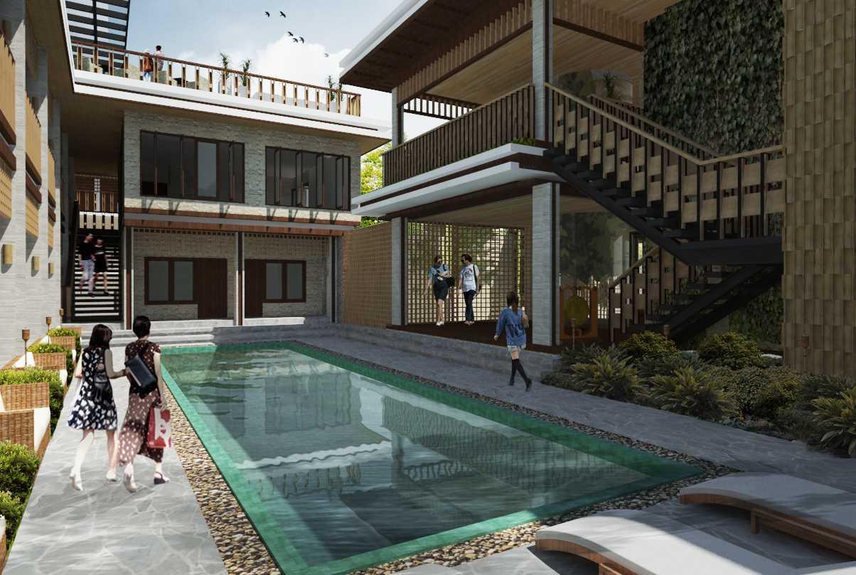 Alima Studio Bharata Hotel Solo, Central Java, Indonesia Solo, Central Java, Indonesia Swimming Pool Area Tradisional  21302