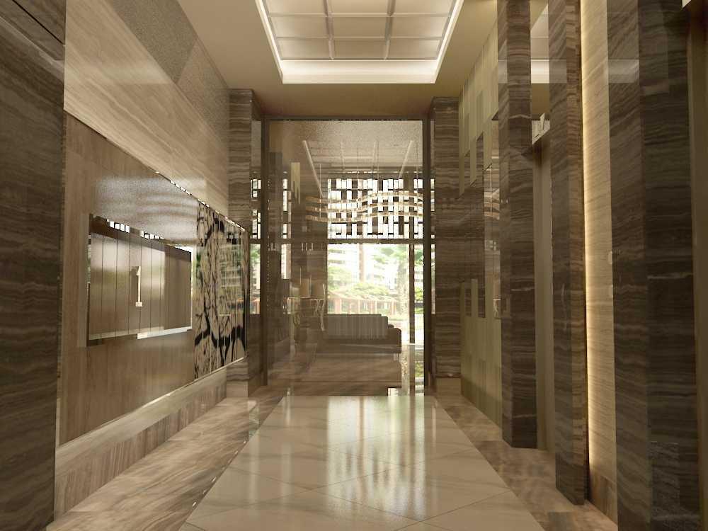Alima Studio Maqna Residence Meruya, Jakarta, Indonesia Meruya, Jakarta, Indonesia Lobby - Lift   21321