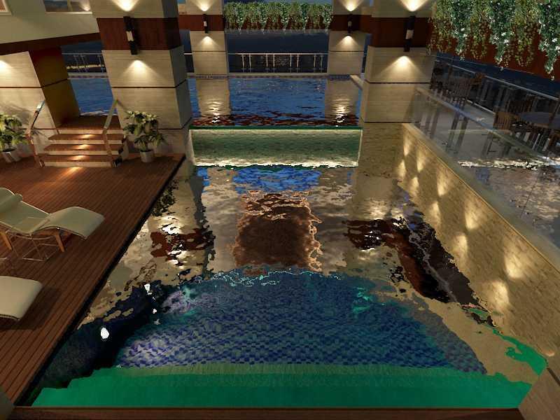 Alima Studio Maqna Residence Meruya, Jakarta, Indonesia Meruya, Jakarta, Indonesia Swimming Pool   21328
